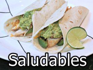 recetas de fajitas saludables